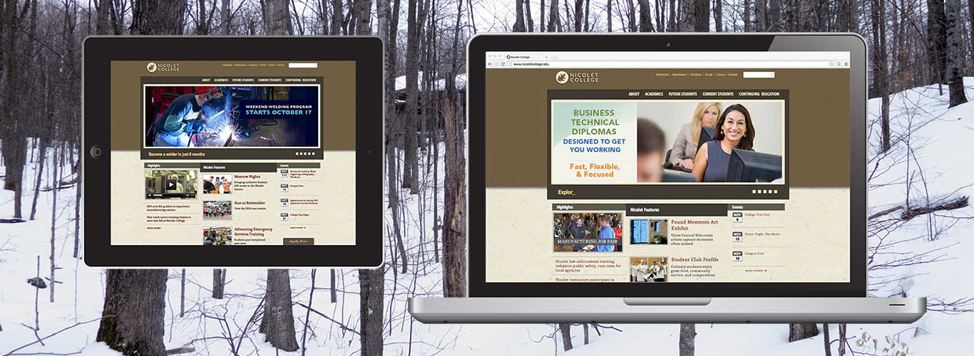 Nicolet College Website